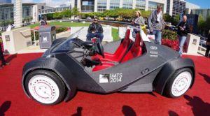 primer carro impreso en 3d